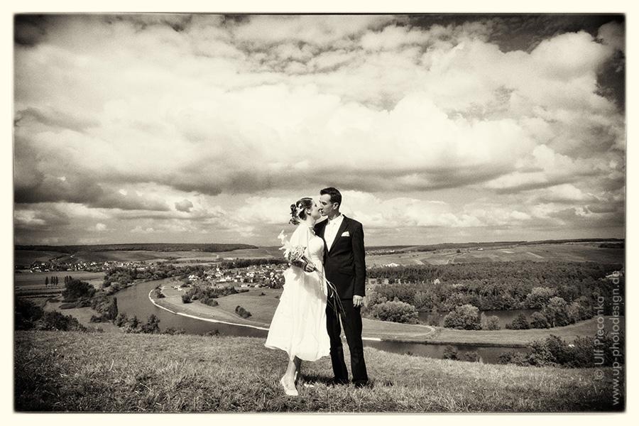 Brautpaar bei Volkach