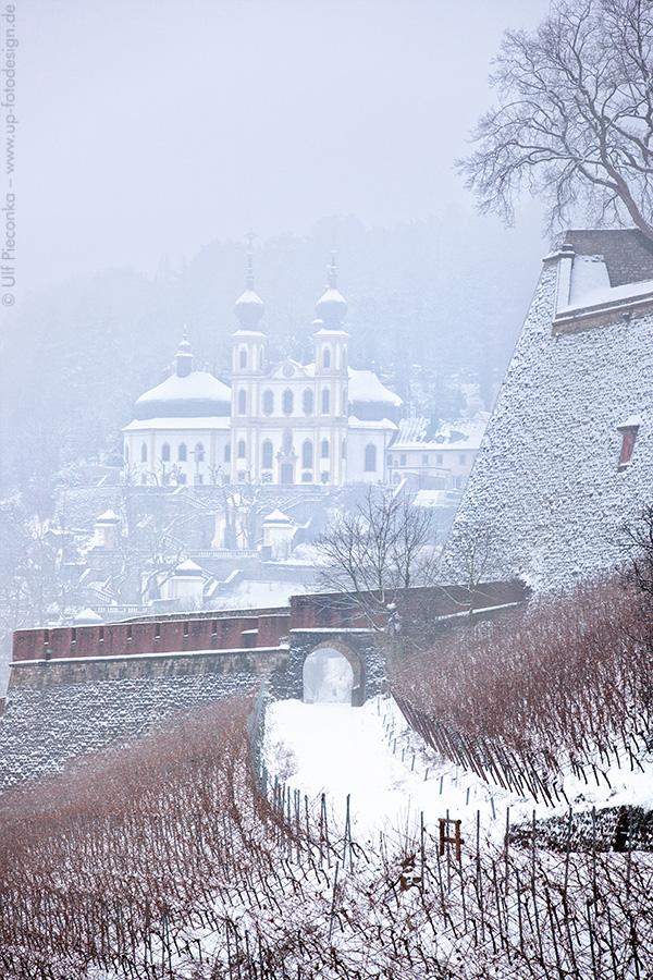 Würzburg - Käppele im Winter